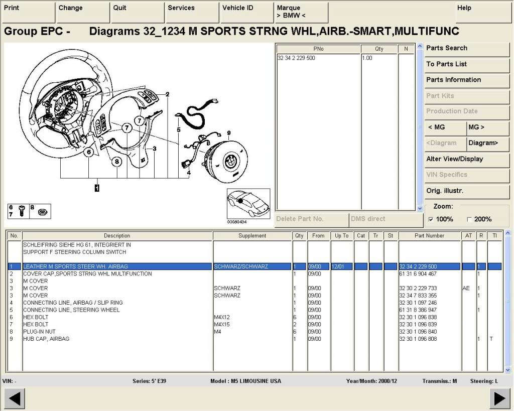 Bmw Wds Electrical Wiring Diagrams Schematics Tis Etk Repair 1997 650 Diagram On Ebay That We Know Of To Include Prices Please Be Aware The May Slightly Different Than Any Dealership Because Each