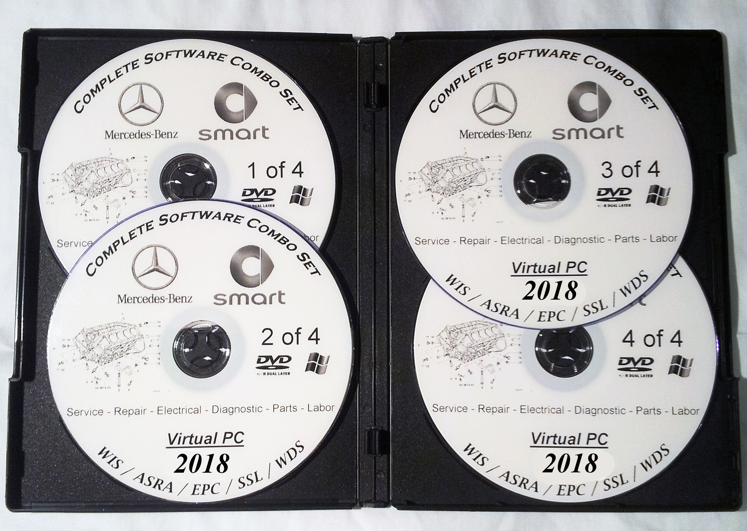 Mercedes 2018 Electrical Wiring Diagrams Schematics Wis Epc Repair 1997 Diagram System Covers All Smart Vehicles From 1986